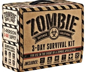 Zombie 3 Day Survival Kit – Great for surviving approx. 3 days after a zombie apocalypse.
