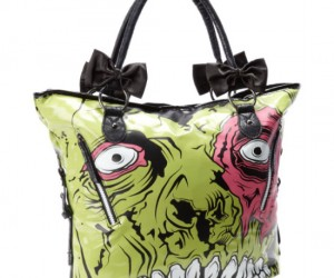 Nobody would want to try to snatch your zombie purse, they would be afraid of getting bitten!