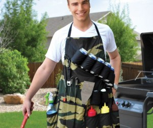 The Grill Sergeant Apron – A real man's apron