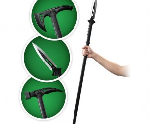 You can have your melee weapon of choice on a long stick, let's see how long you last in a zombie hoard now!