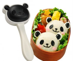 Panda Rice Mold Kit – That's right, you can actually make those cute little rice pandas yourself! It even has a seaweed punch to make the little black parts of