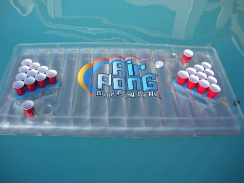 air beer pong table