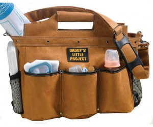 Daddy Diaper Bag – For daddy's most precious project.