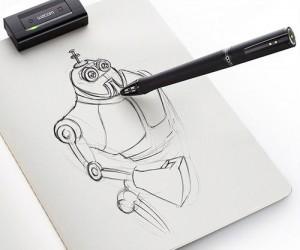 Digital Sketch Pen – The ultimate artist pen, draw on paper and send it to your computer, in layers and everything!