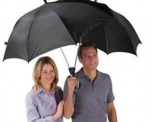 Double Umbrella – You don't have tosacrificeyourself to the rain to keep your girl dry because she doesn't have an umbrella, problem solved.