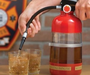 Fire Extinguisher Drink Dispenser – Perfect for extinguishing your thirst!