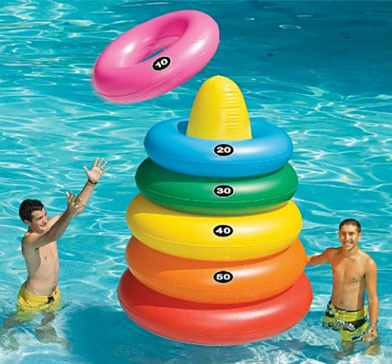 giant inflatable ring toss
