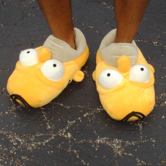 Homer Simpson Slippers Shut Up And Take My Money