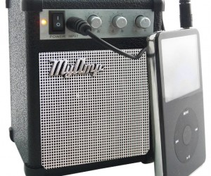 iPhone/iPod Amp – Now you can really rock out with that guitar simulating app!