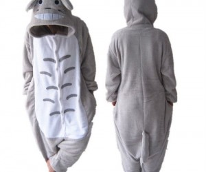 Totoro Pajamas now you can be just as fluffy and comfy as Totoro