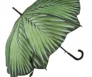 Palm Tree Umbrella – Shield yourself from the rain with what look like real palm tree leaves!