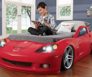 Race Car Bed – What I wouldn't have given to have this bed as a kid.