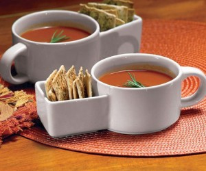 Soup and Cracker Mugs – You can dip it, sip it, stir it, or serve it. Whatever you want to do, this mug is for you!