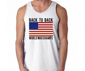 Back To Back World War Champs Tee – America F Yeah!