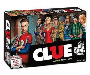 It's all the classic fun of Clue with a Big Bang Theory twist Bazinga!
