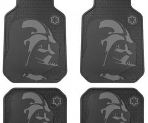 Darth Vader floor mats – Come to the Dark Side – we've got floor mats.