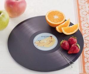 Vinyl Record Cutting Board – You gotta chop around the clock tonight!