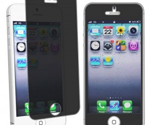 iPhone 5 Privacy Screen Protector – Finally a way to keep what you're looking at private.