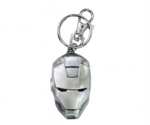 Iron Man Pewter Keyring – Who better to protect your keys than Iron Man himself?