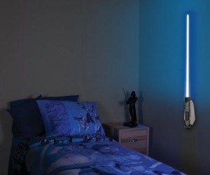 Lightsaber Room Light – Sleep tight knowing you have a lightsaber right next to your bed.