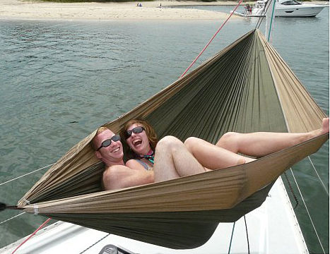 portable cocoon hammock