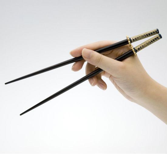 samurai sword chopsticks