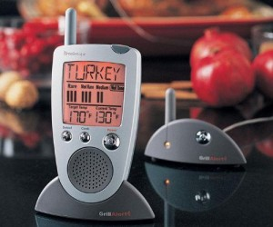 Talking Remote Meat Thermometer – Now you'll know exactly when the turkey is ready!