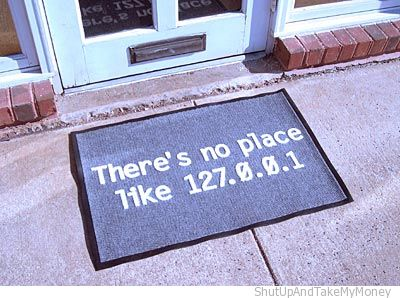 theres no place like home doormat