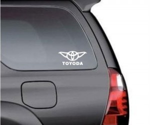 Toyoda Decal – Buy or don't buy there is no try.