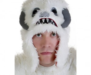 Nothing will keep your head warmer this winter than a Wampa Fleece Hat!