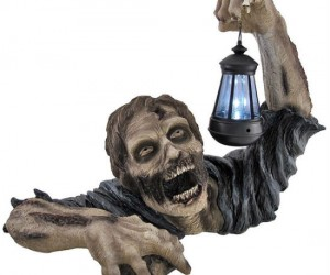 Zombie Solar Light – Zombies don't always have to be scary, they can be useful too!
