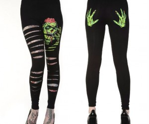 Zombie Leggings – Zombies may primarily go for the brains, but they love dat ass too.