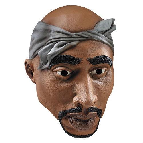 2pac halloween mask shawty wanna be a rapper for halloween