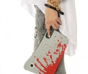 Bloody Knife Handbag – Guaranteed no one will want to steal your purse now.