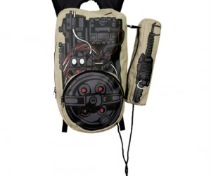 With this backpack you'll hope your school is haunted so you can do some ghost busting!