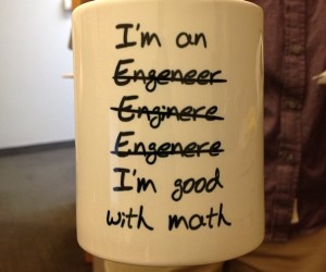 I'm good with math mug – Perfect for the engeneer enginere engenere engineer in your life