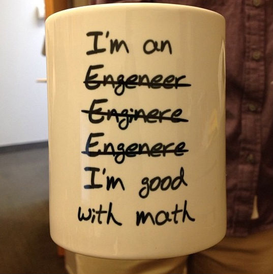 im good with math mug