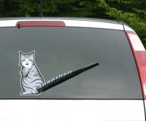 Moving Tail Kitty Car Decal – Who wouldn't want the cutest car decal imaginable.