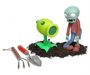 Protect your home from the unrelenting wave after wave of zombie attacks with your very own Plants Vs Zombies lawn ornaments!