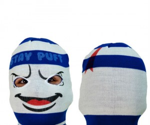 Stay Puft Ski Mask – Stay Puft will help you stay warm during those long winter ski trips!