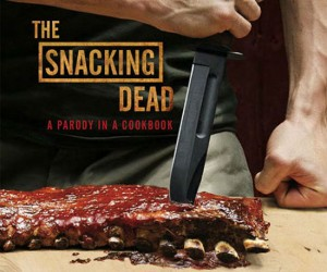 The Snacking Dead Cookbook – Fighting off all those zombie hoards sure works up an appetite, this cookbook will give you some great recipe ideas to satisfy your flesh cravings!