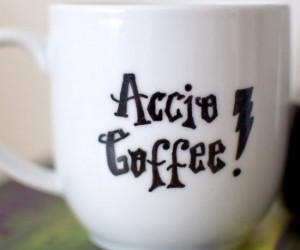 Accio Coffee Mug – Don't we all wish coffee could just magically appear?
