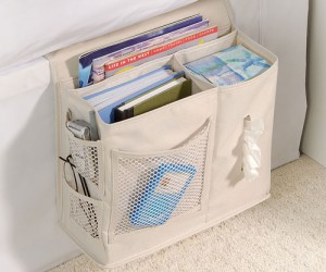 Bedside Caddy – No more leaving everything strew across a night stand.