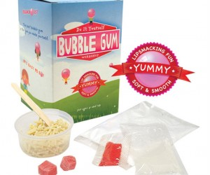 They say everything taste better homemade, just imagine the taste of homemade bubble gum!