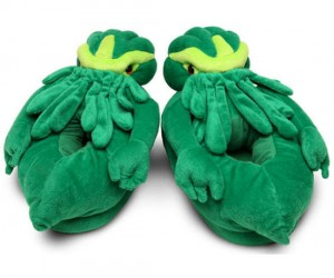 Cthulhu is good to his minions, he keeps their feet warm!