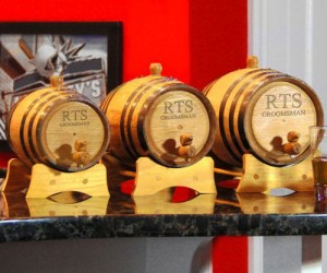 1Whiskey Barrels Drink Dispenser – Ages any drink to perfection. (except milk)