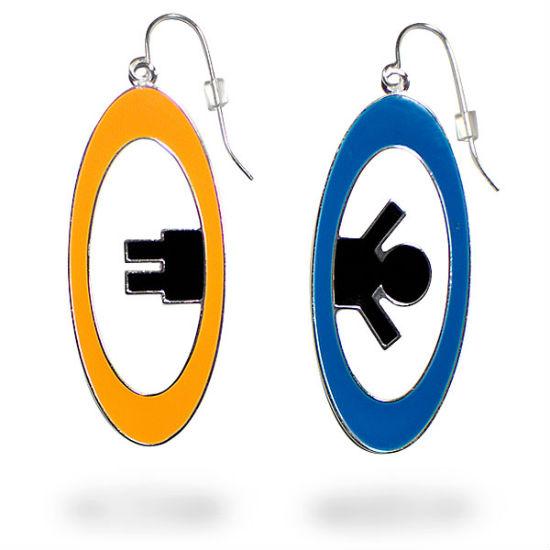 portal 2 earrings