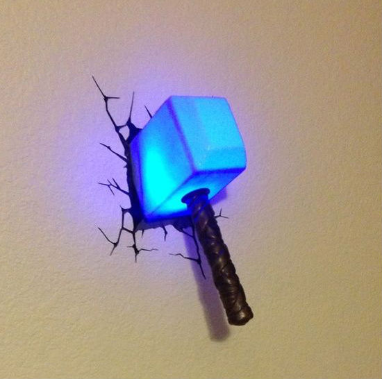 thor hammer light