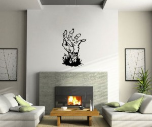 Zombie Hand Wall Decal – A great centerpiece for any zombie loving fan.