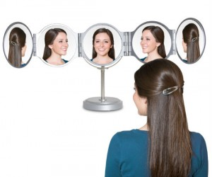 Finally an easy way to see the back of your own head!